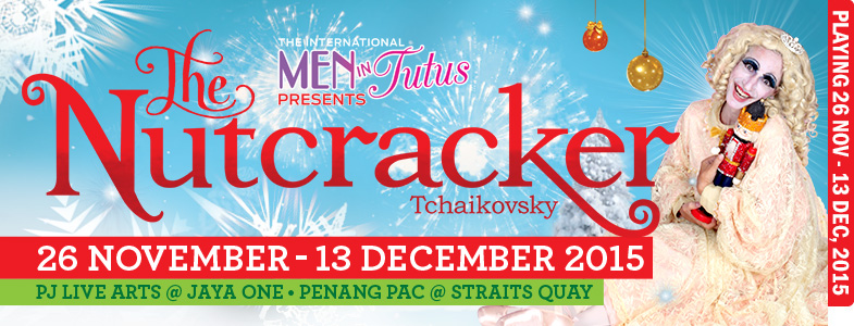 The international Men-in-Tutus presents The Nutcracker